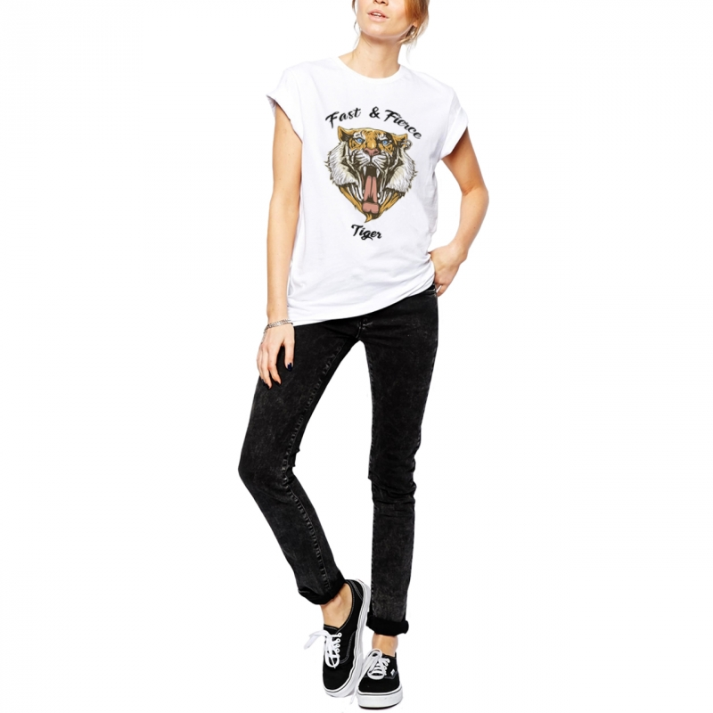 ICONETA | Camiseta FAST AND FIERCE mujer