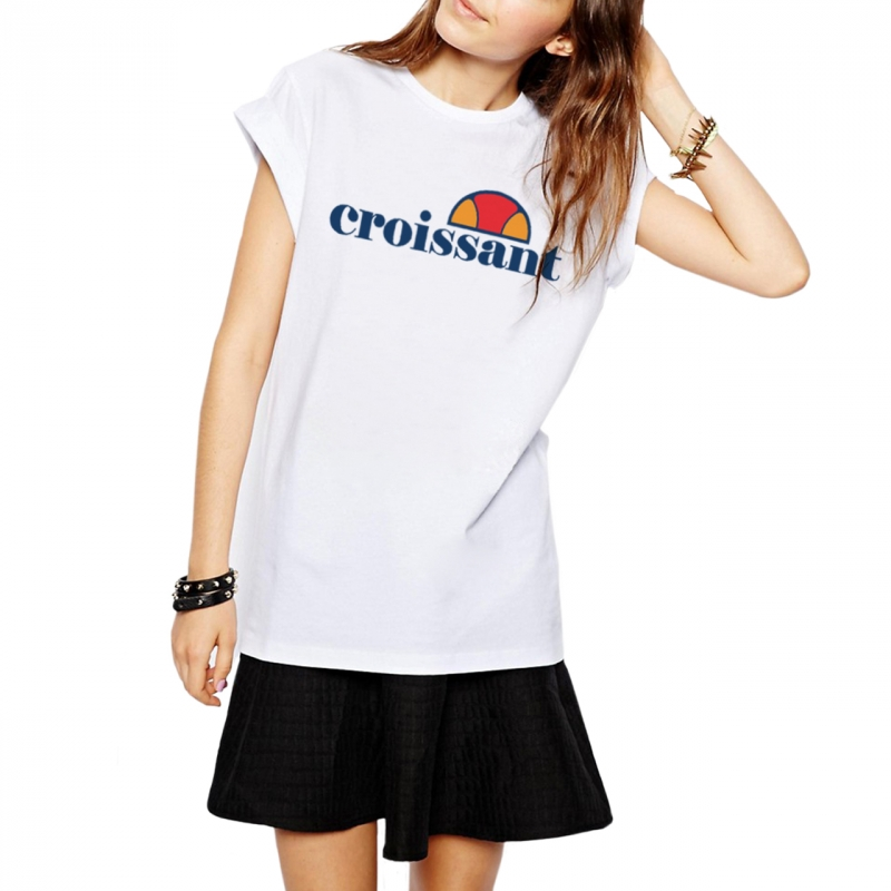 ICONETA | Camiseta CROISSANT mujer