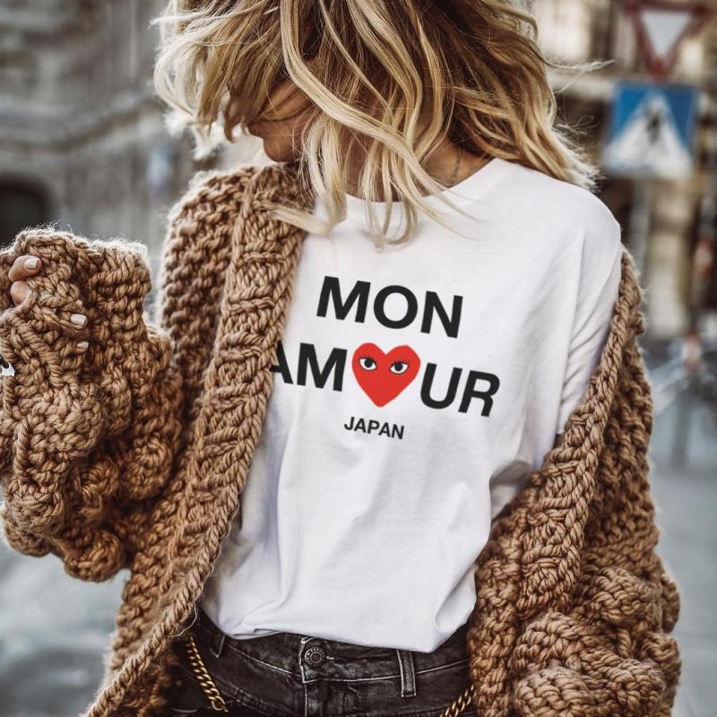 ICONETA | Camiseta MON AMOUR mujer
