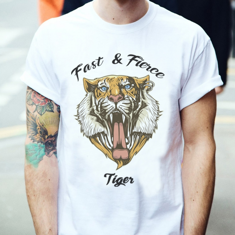 ICONETA | Camiseta FAST AND FIERCE hombre