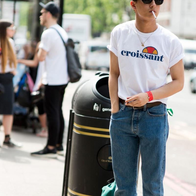 ICONETA | Camiseta CROISSANT hombre