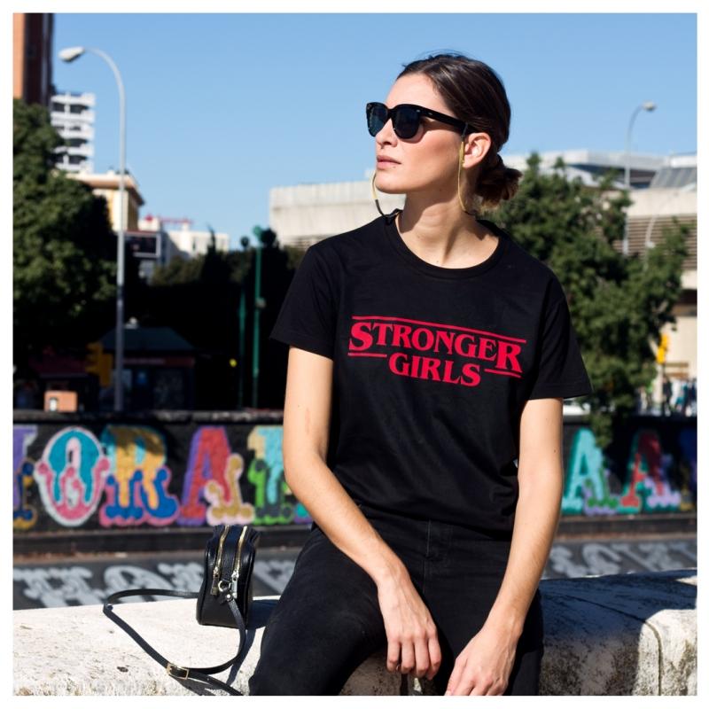 ICONETA | Camiseta STRONGER GIRLS mujer