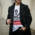 ICONETA | Camiseta BRUCE SUPREMO hombre