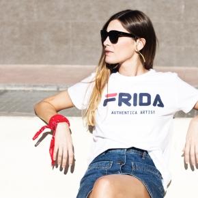 Camiseta FRIDA ARTIST mujer