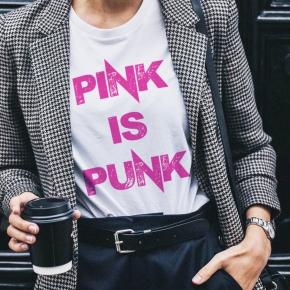 Camiseta PINK IS PUNK mujer