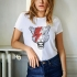 ICONETA | Camiseta TIGER BOWIE mujer