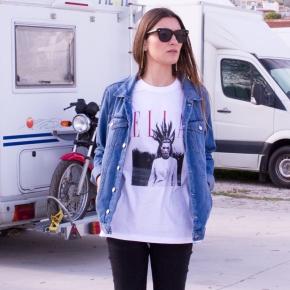 Camiseta KATE MAGAZINE mujer