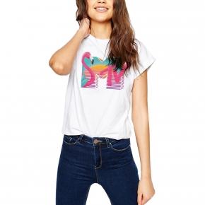 Camiseta MTV 80`S mujer