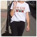 Camiseta GIRL GANG ROSES mujer