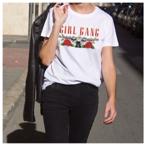 GIRL GANG ROSES T-Shirt