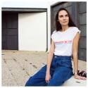 Camiseta LOVE PINK fit mujer