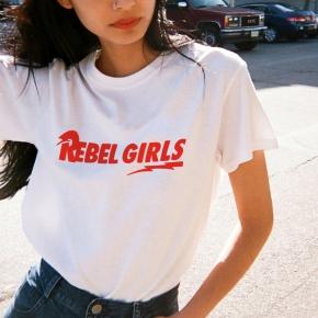 Camiseta REBEL GIRLS mujer