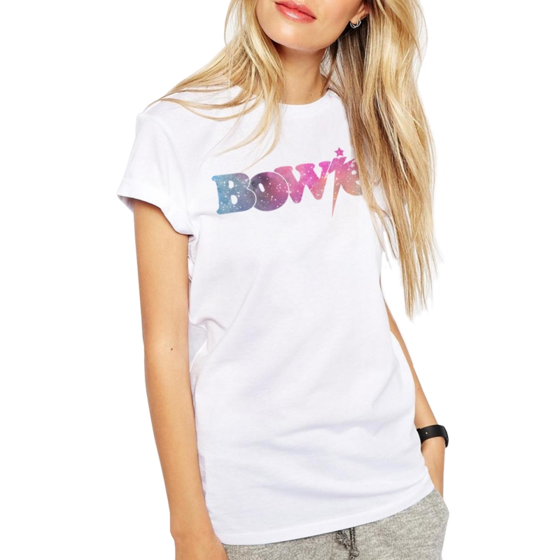 ICONETA | Camiseta SPACE OF BOWIE mujer