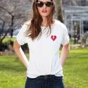 Camiseta ROCKER HEART mujer