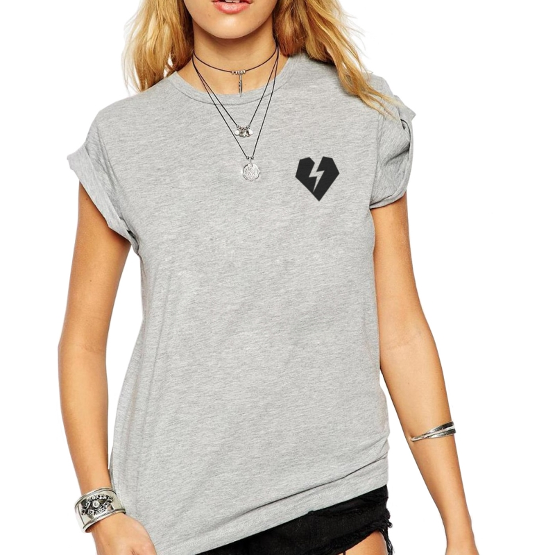 ICONETA | Camiseta ROCKER HEART mujer