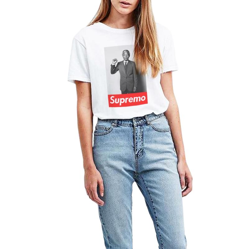 ICONETA | Camiseta MANDELA SUPREMO mujer