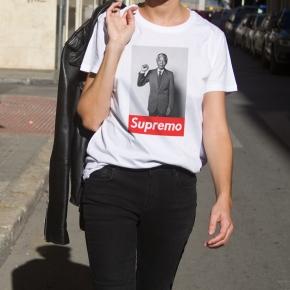 Camiseta MANDELA SUPREMO mujer