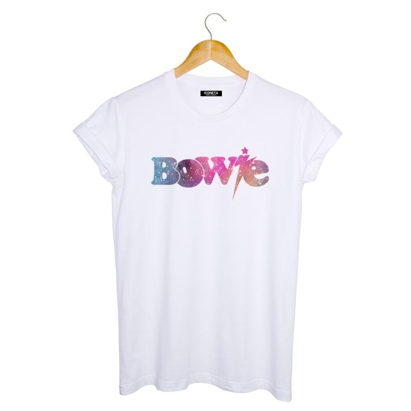 ICONETA | Camiseta SPACE OF BOWIE hombre