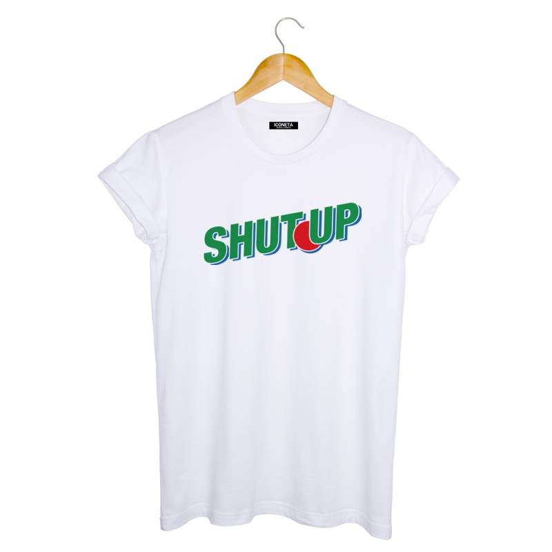 ICONETA | Camiseta SHUT UP hombre