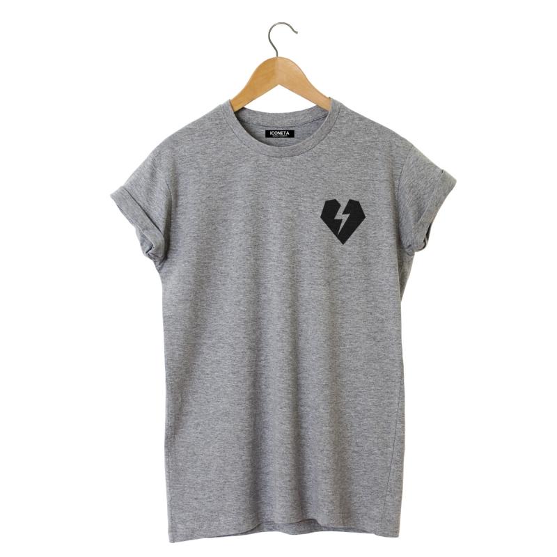 ICONETA | Camiseta ROCKER HEART hombre