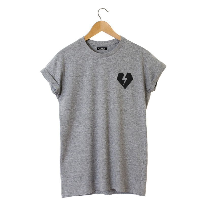 ICONETA | ROCKER HEART T-Shirt man