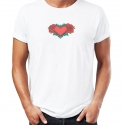 Camiseta HEART OF ROSES hombre