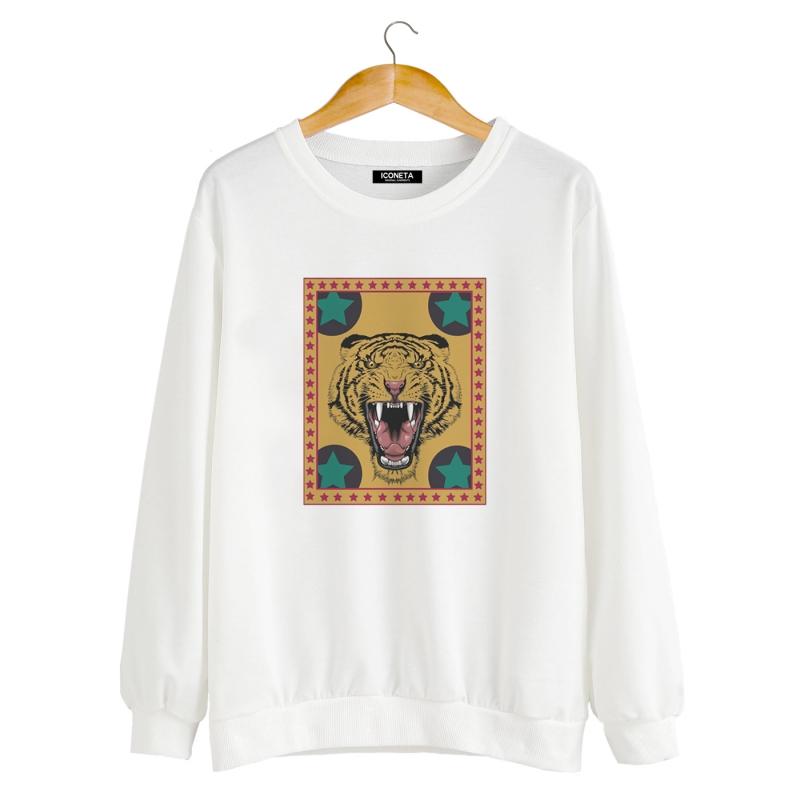 ICONETA | TIGER STAR Sweatshirt man