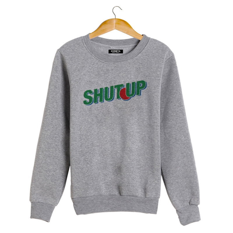 ICONETA | SHUT UP Sweatshirt man