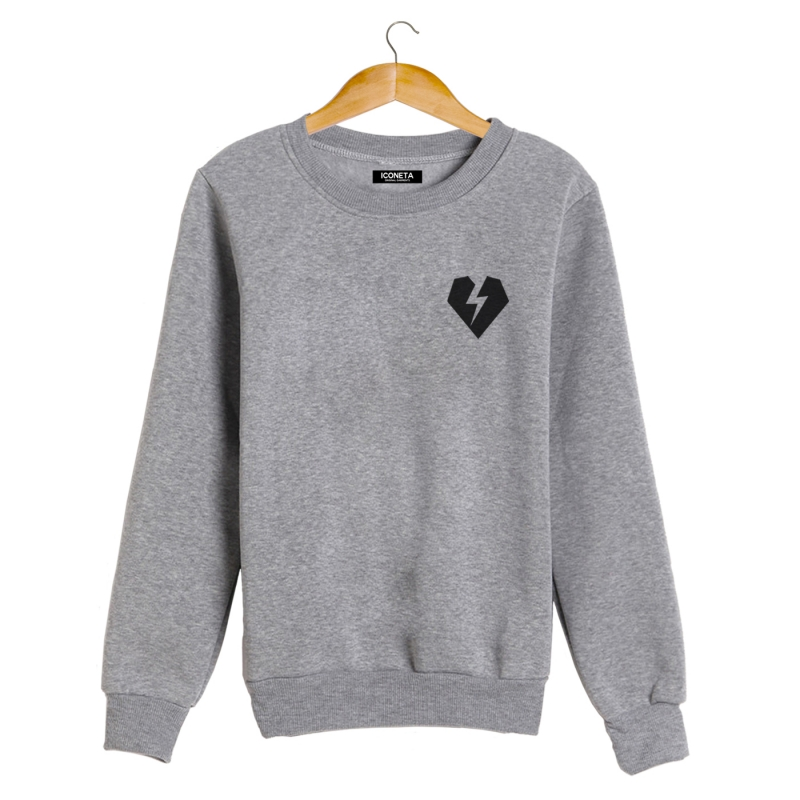 ICONETA | ROCKER HEART Sweatshirt man