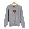 HEART OF ROSES Sweatshirt man