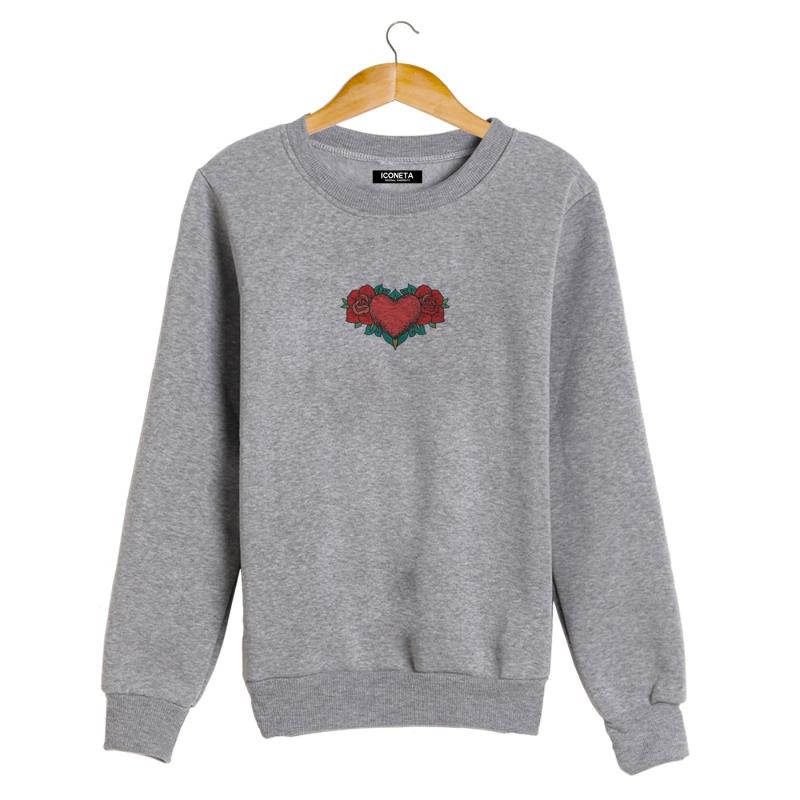 ICONETA | HEART OF ROSES Sweatshirt man