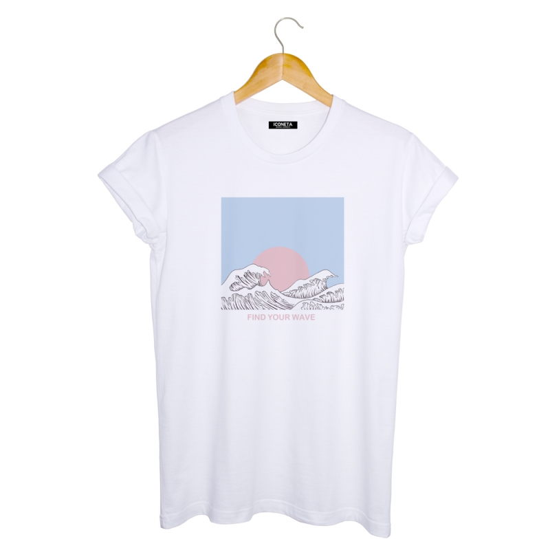 WAVE T-Shirt man