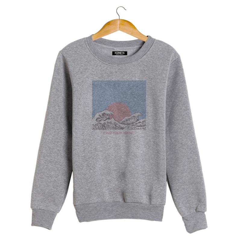 WAVE Sweatshirt man