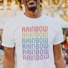 Camiseta RAINBOW hombre