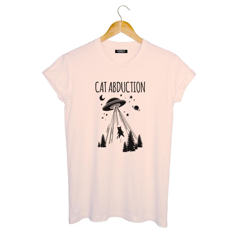 CAT ABDUCTION T-Shirt man
