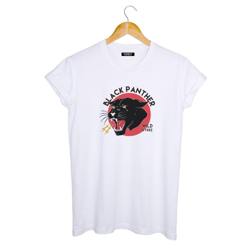 BLACK PANTHER T-Shirt man