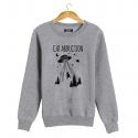 CAT ABDUCTION Sweatshirt man