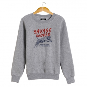 SAVAGE WORLD Sweatshirt man