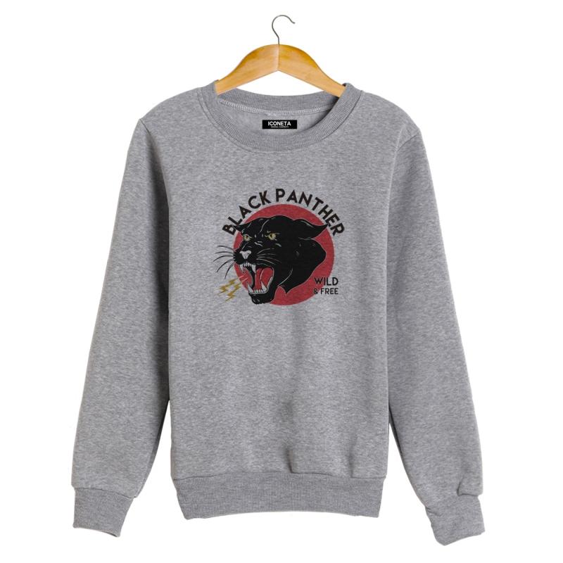 BLACK PANTHER Sweatshirt man