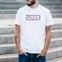 Camiseta RETRO LOVE hombre
