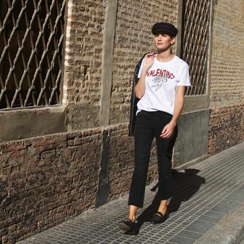 Camiseta VALENTIN'S LOVE mujer