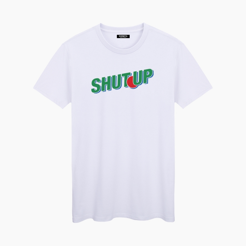 ICONETA   SHUT UP T-Shirt