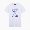 CAT ABDUCTION unisex T-Shirt