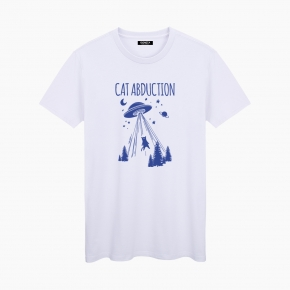 Camiseta CAT ABDUCTION unisex