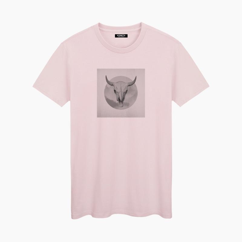 Camiseta OLD SKULL mujer