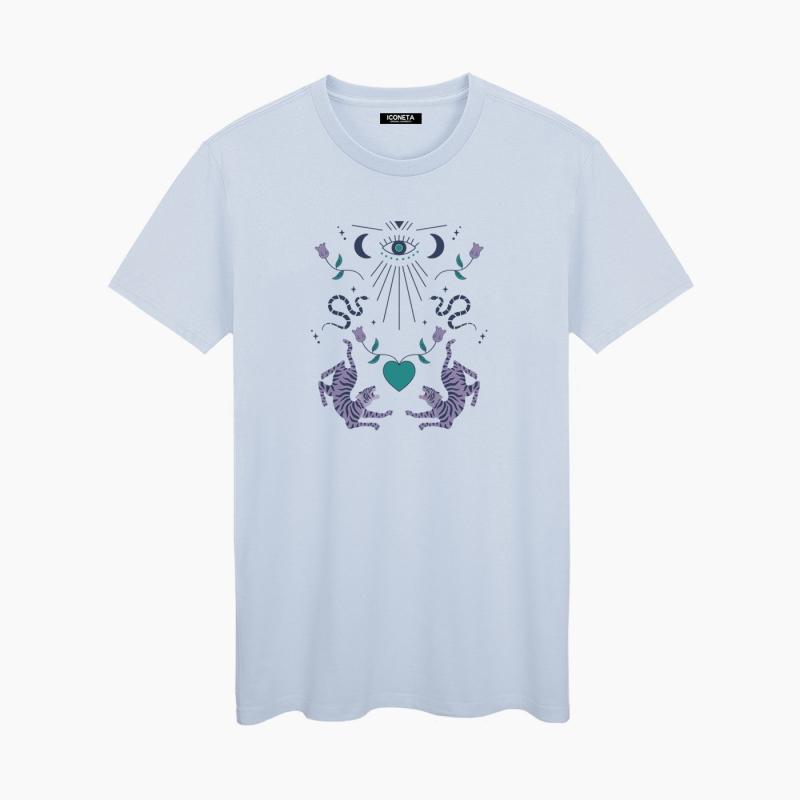 Camiseta LOVE TIGERS mujer