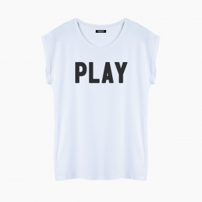 Camiseta PLAY relaxed fit mujer