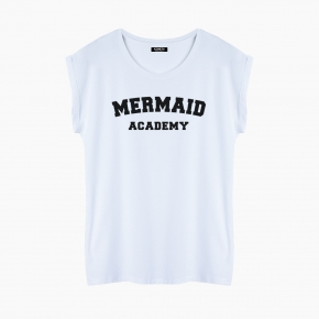 Camiseta MERMAID ACADEMY relaxed fit mujer