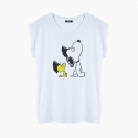 PUNKY SNOOPY T-Shirt relaxed fit woman