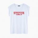 STRONGER GIRLS T-Shirt relaxed fit woman